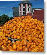 Pumpkin Heaven Metal Print