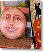 Pumpkin Patch 3 Metal Print