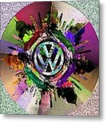 Punch Buggy Taj Metal Print