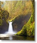 Punchbowl Pano Metal Print by Darren  White