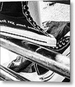 Punk Rock Shoes Metal Print