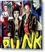 Punk Style Metal Print