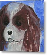 Puppy Doll Metal Print