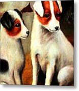 Puppy Love 2 Metal Print