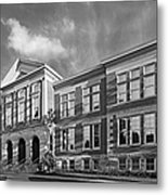 Purdue University Pfendler Hall Metal Print by University Icons