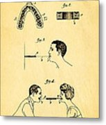 Purdy Excercising Device Patent Art 1923 Metal Print