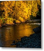 Pure Gold Metal Print