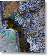 Purl Of A Brook 1 - Featured 3 Metal Print