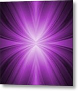 Purple Abstract Background Metal Print