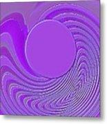 Purple Alchemy Metal Print