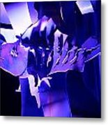 Purple Blue Fish...   # Metal Print