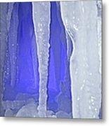 Purple Cave Metal Print