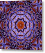 Purple Design 2 Metal Print