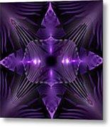 Purple Fingerz Metal Print