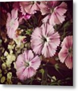 #purple #flowers #ihavenoclue #pretty Metal Print