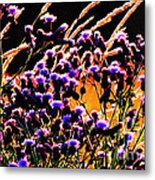 Purple Glory Metal Print