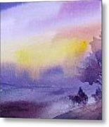 Purple Haze... Metal Print