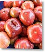 Purple Heirloom Tomatoes  Metal Print
