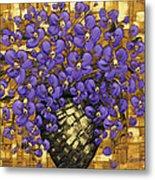 Purple In The Warm Glow Metal Print