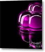 Purple Jelly Metal Print