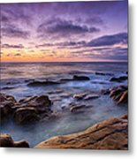 Purple Majesty No Mountain Metal Print