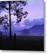 Purple Mountain Majesty Metal Print