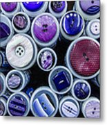 Purple Palate Metal Print
