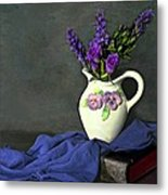 Purple Pardon Metal Print by Diana Angstadt