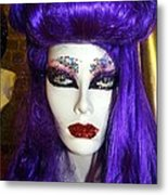 Purple Princess Metal Print