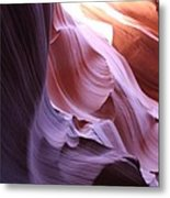 Purple Sandstone Metal Print
