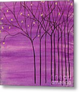 Purple Spring Metal Print