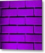 Purple Wall Metal Print by Semmick Photo