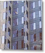 Purple Windows Metal Print