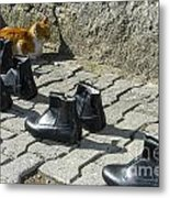 Puss And Boots Metal Print