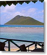 Pussers Marina Cay Metal Print