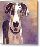 Puzzle The Great Dane Metal Print