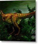 Pycnonemosaurus Was A Carnivorous Metal Print