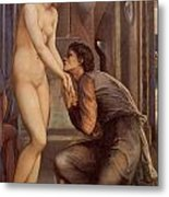 Pygmalion And The Image Iv Metal Print