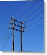 Pylon 23 Metal Print