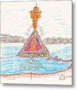 Pyramid Lake - Nevada Metal Print