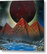 Pyramids 4663 Metal Print