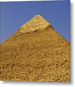 Pyramids Of Giza 06 Metal Print