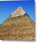 Pyramids Of Giza 15 Metal Print by Antony McAulay