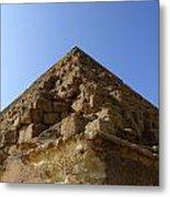 Pyramids Of Giza 20 Metal Print