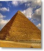Pyramids Of Giza 28 Metal Print