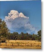 Pyrocumulus Cloud 08 18 12 Metal Print