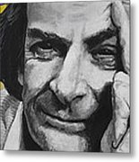Qed- Richard Phillips Feynman Metal Print