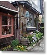 Quaint Rockport Metal Print