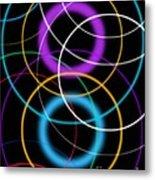 Quantum Physics, Conceptual Artwork Metal Print
