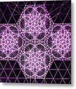 Quantum Snowfall Metal Print